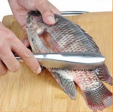 Mẹo đánh vẩy cá dễ dàng