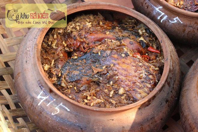 Cá kho làng Vũ Đại là món ăn được yêu thích nhất hiện nay
