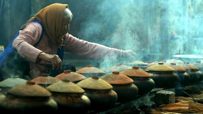Cá kho làng Vũ Đại được chế biến cầu kỳ
