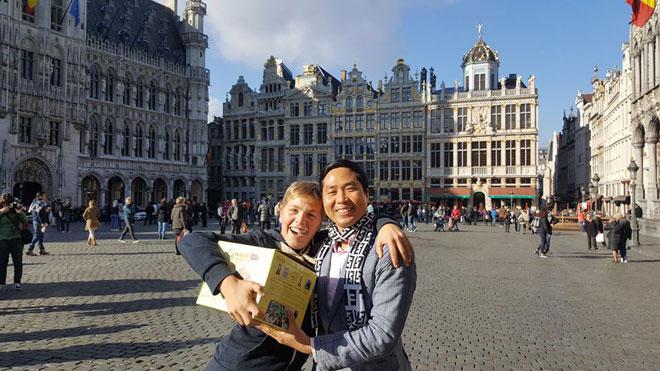Tại Bỉ, trẻ em cũng rất yêu thích món ăn cổ truyền cá kho làng Vũ Đại