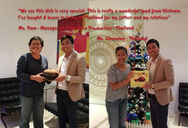 Tại Thái Lan, món ăn cá kho Bá Kiến rất được yêu thích