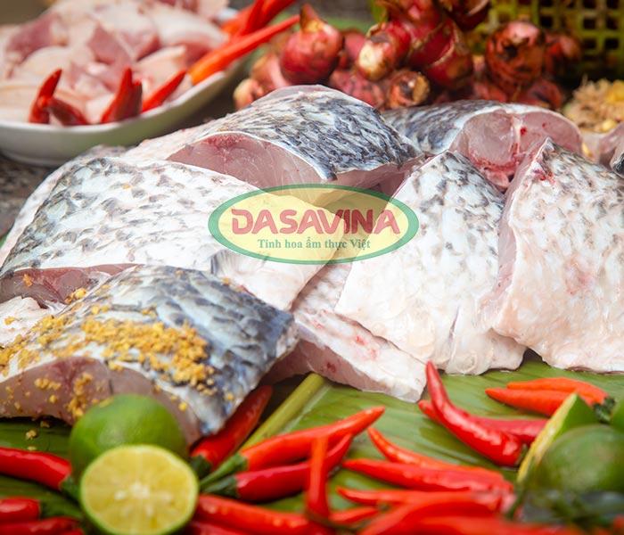 Cá kho Dasavina với hơn 10 loại nguyên liệu tự nhiên