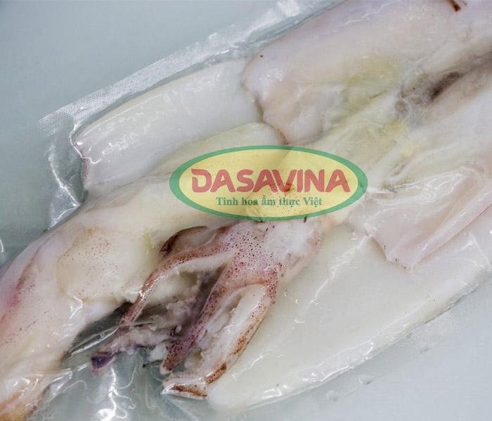 Mực ống một nắng Cô Tô của Dasavina
